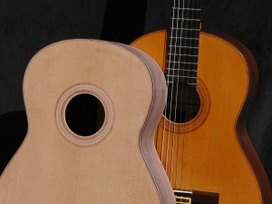 Alain Raifort's guitar Grand-Concert Red Cedar