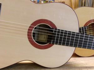 Alain Raifort's guitar Flamenca