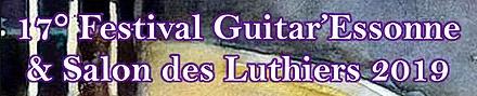 Alain Raifort au festival Guitar'Essonne et Salon des Luthiers